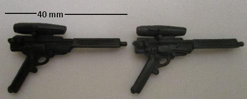 GI Joe Accessory   2009 Cobra Neo-Viper          Black Laser Pistol Gun