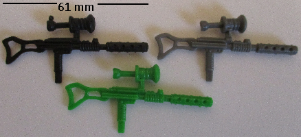 GI Joe Weapon Long Arm Gun 1993 Original Figure Accessory #5