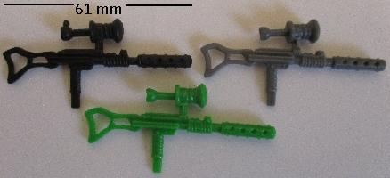 Cobra Soldier Style Dragonuv Rifle Black Major Gun Weapon GI Joe