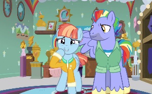Episode Reviews For My Little Pony Friendship Is Magic Took me 10+ hours to complete this xd i've always liked them being colored drawing of rainbow dash giving scootaloo her first flying lesson featured in eqd drawfriend stuff #786: episode reviews for my little pony friendship is magic