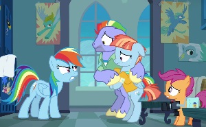 Episode Reviews For My Little Pony Friendship Is Magic Scootaloo is a chicken is perhaps the first image that started this line of memes. episode reviews for my little pony friendship is magic