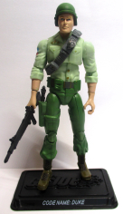 Arm Set V1,4 GI Joe Body Part  2005 Infantry Division Green Shirts